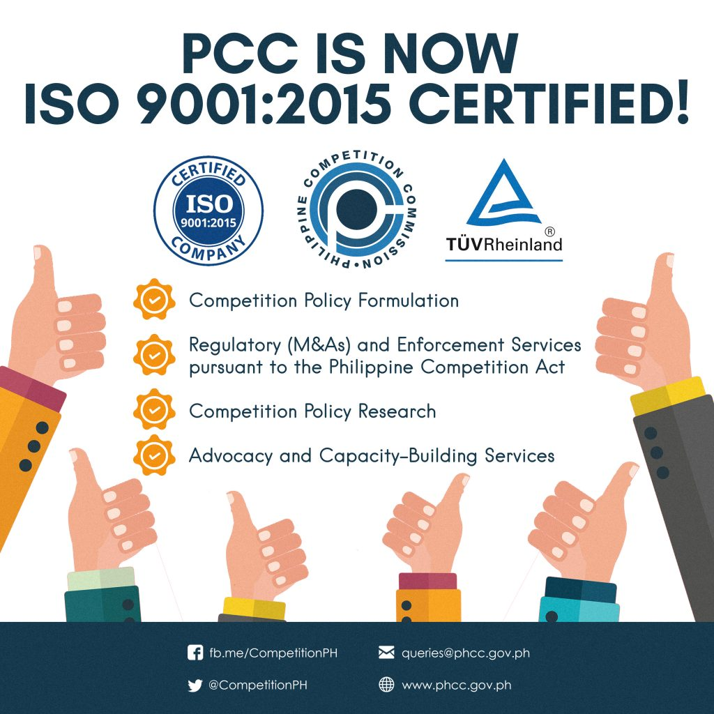 Pcc Earns Iso Certification For Core Processes Philippine